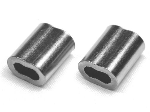 2 Pack of Nickel Coaed Copper Swages