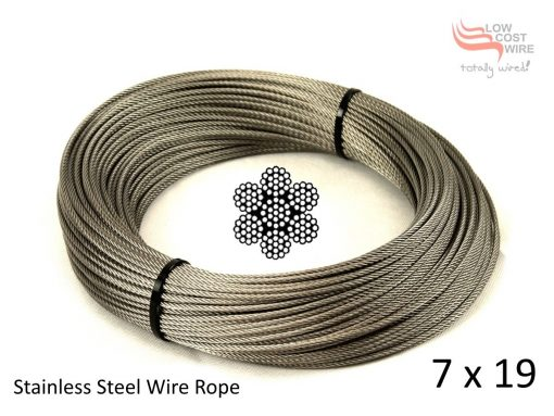 7x19 Steel Wire Rope Coil