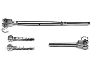 Jaw Swage Rigging Screw & Short Screw Eye Kit SRTT