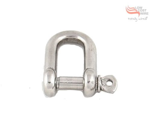 G316 Stainless Steel D-Shackle 1