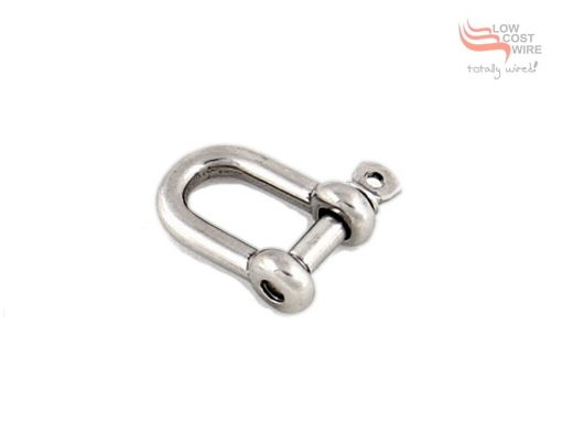 G316 Stainless Steel D-Shackle