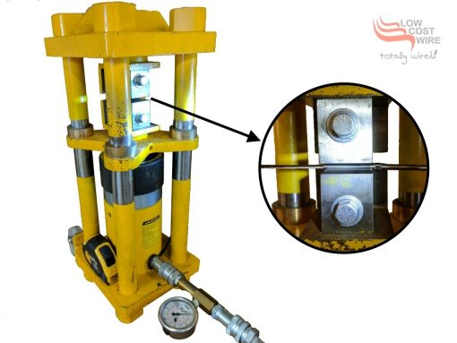 Hydraulic Swaging Press