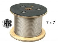 7X7 G316 Stainless Steel Wire Reel with Structure
