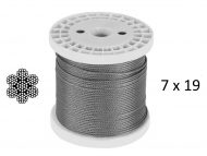 7x19 G316 Stainless Steel Wire Rope
