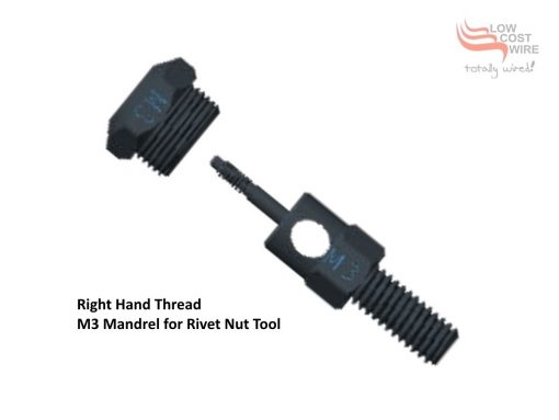 RHT Rivet Nut Mandrel M3