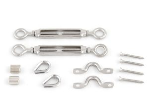 Eye Eye Turnbuckle Swage Thimble Saddle Screws LRTT
