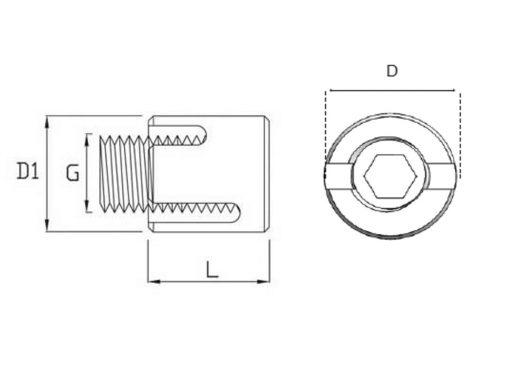 cross clamp 90 diagram