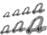 Dee Shackle G316 Stainless Steel all Sizes
