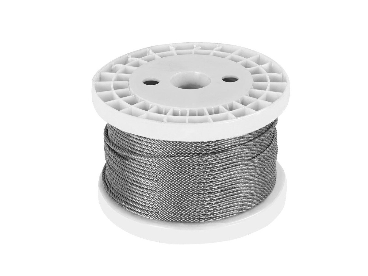 1 8mm Stainless Steel Wire Rope for Landscaping, Architecture and Display