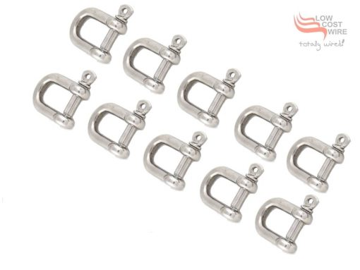 10 Pack of Dee Shackles