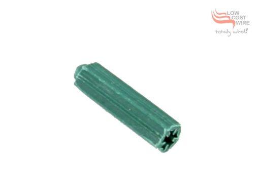 Green PVC Wall Plug