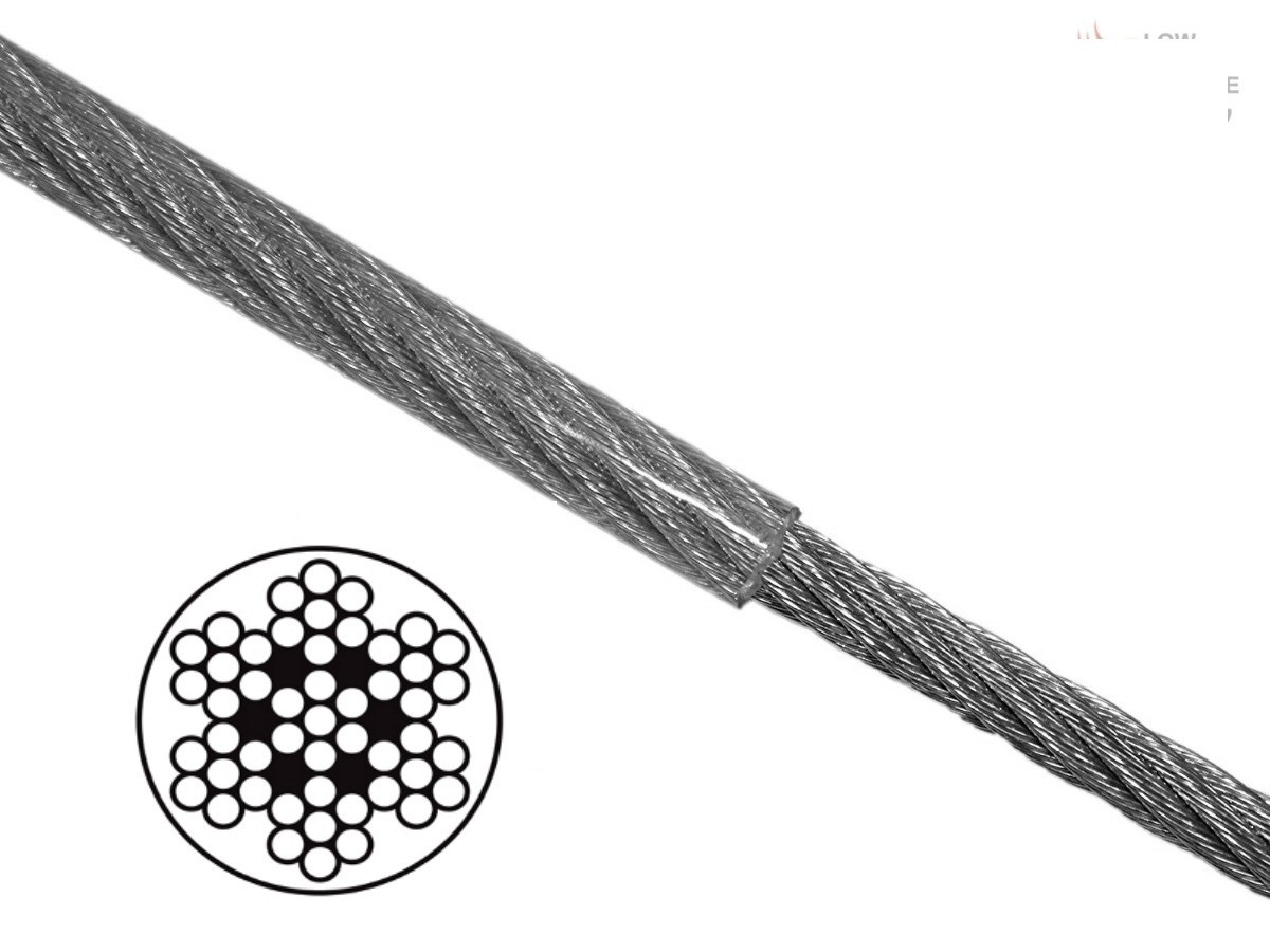 3 2mm Coated Stainless Steel Wire Rope