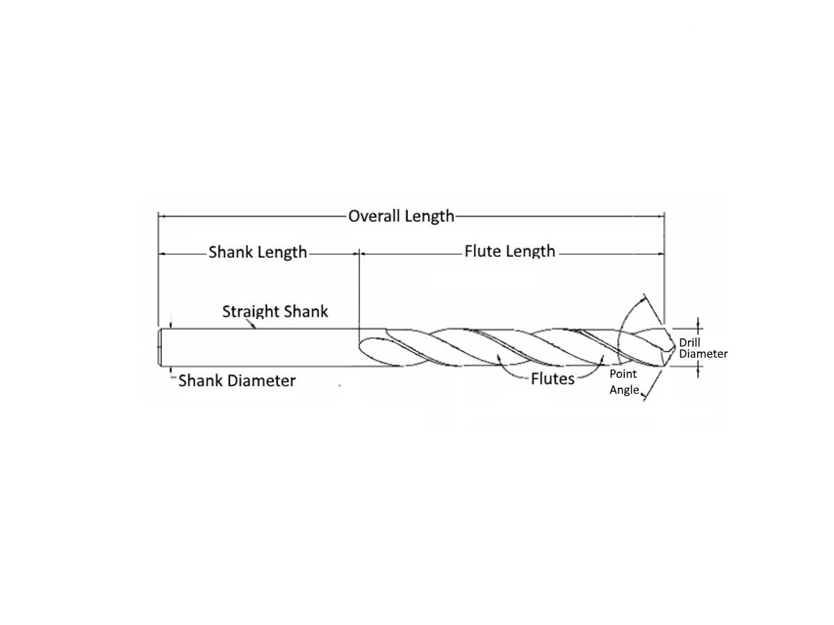 5mm Drill Bit >> Drill Bit Long HSS Cobalt Steel