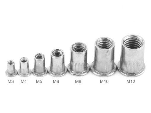 Aluminum Nutsert Assortment labelled