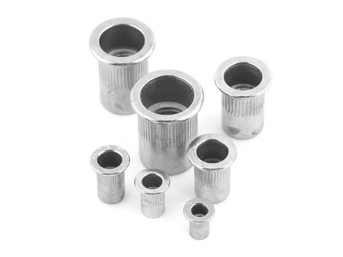 Aluminium Nutserts Rivet Nuts (rivnuts or nutserts)