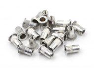 Aluminium Nutsert Assortment Jumbled