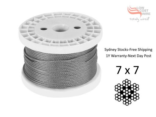 7X7 G316 Stainless Steel Wire Reel