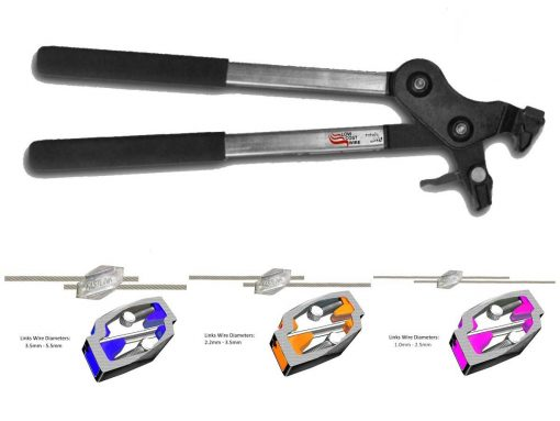 Fastlink Wire Joiner Tension Tool and Fastlinks