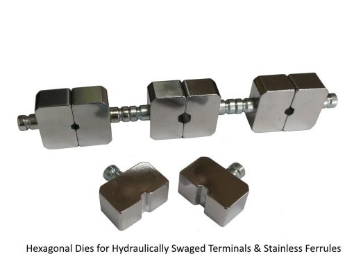 LCW-153T Professional Swager Tool Hexagonal Dies