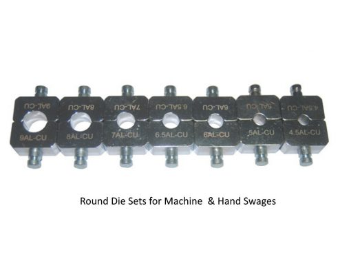 LCW-153T Professional Swager Tool Round Dies