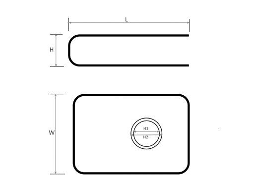Fence Clip Dimension Diagram