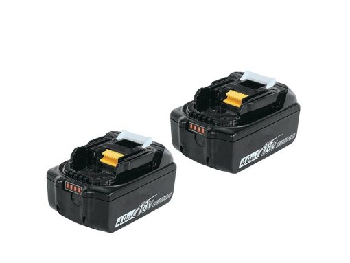 2 Pack of 4.0ah battery 1