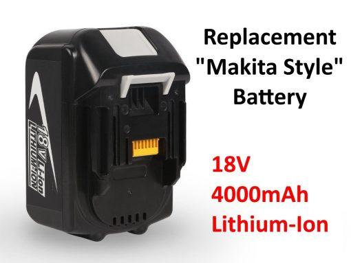 18V 4.0mAh battery