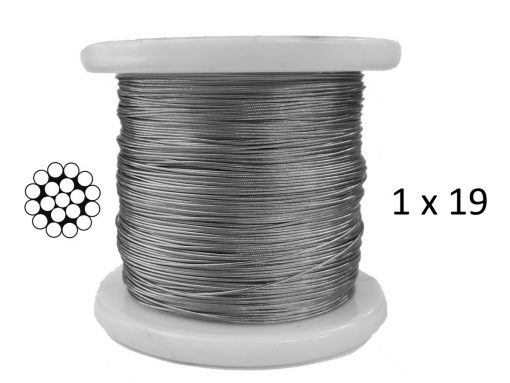 1x19 G316 Stainless Steel Wire Rope