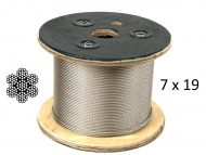 7X19 G316 Stainless Steel Wire Reel with Structure
