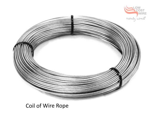 Cut and Pack a Coil of Wire Rope
