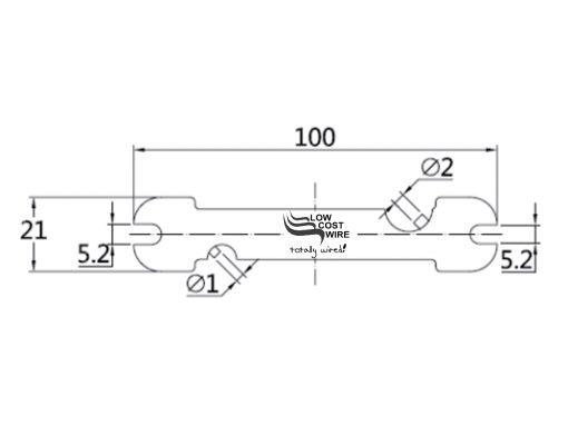 Multi Tool Dimensional Diagram