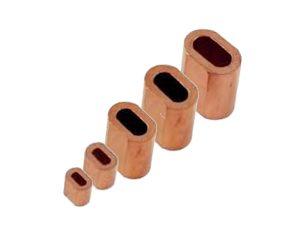 Oval DIN 3093 Copper Ferrules