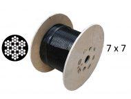 Black Nylon Coated 7x7 G2070 Reel