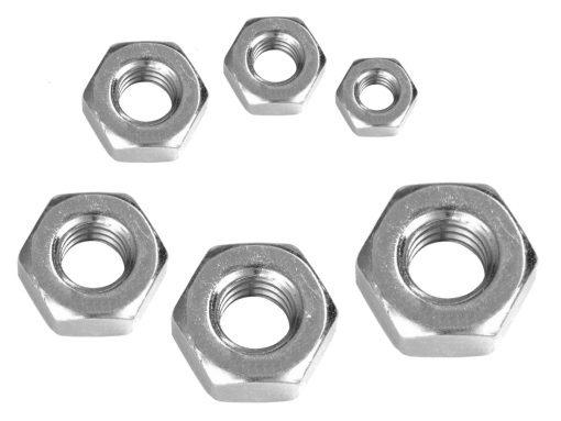 Hex Nut LHT Sizes