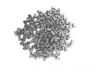 Nylon Split Ring Grey Grommet